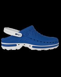 Wock Clog Medische klomp medium blauw/wit